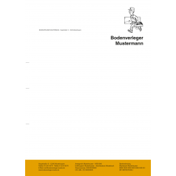 Briefbogen04 - 1stg - 4/0fbg -Handwerker